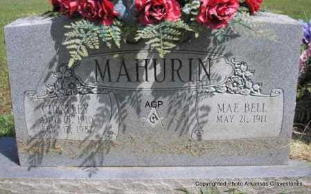 MAHURIN, CHESTLEY - Montgomery County, Arkansas | CHESTLEY MAHURIN - Arkansas Gravestone Photos