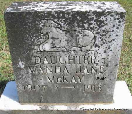 MC KAY, WANDA JANE - Montgomery County, Arkansas | WANDA JANE MC KAY - Arkansas Gravestone Photos