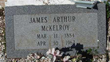 MCKELROY, JAMES ARTHUR - Montgomery County, Arkansas | JAMES ARTHUR MCKELROY - Arkansas Gravestone Photos