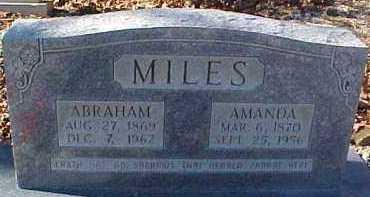 MILES, AMANDA FRANCIS - Montgomery County, Arkansas | AMANDA FRANCIS MILES - Arkansas Gravestone Photos