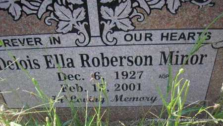 MINOR, DELOIS ELLA - Montgomery County, Arkansas | DELOIS ELLA MINOR - Arkansas Gravestone Photos