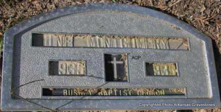 MONTGOMERY, INFANT - Montgomery County, Arkansas | INFANT MONTGOMERY - Arkansas Gravestone Photos