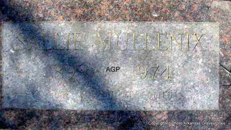 MULLENIX, SALLIE - Montgomery County, Arkansas | SALLIE MULLENIX - Arkansas Gravestone Photos