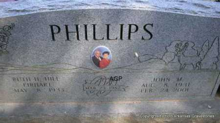 PHILLIPS, JOHN M. - Montgomery County, Arkansas | JOHN M. PHILLIPS - Arkansas Gravestone Photos
