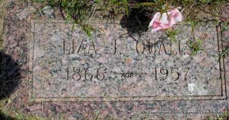 QUALLS, LIZA J. - Montgomery County, Arkansas | LIZA J. QUALLS - Arkansas Gravestone Photos