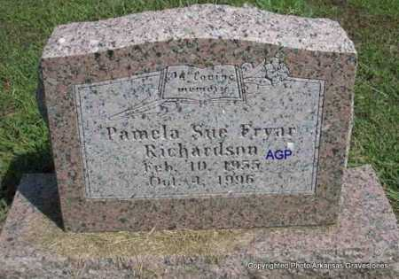 FRYAR RICHARDSON, PAMELA SUE - Montgomery County, Arkansas | PAMELA SUE FRYAR RICHARDSON - Arkansas Gravestone Photos