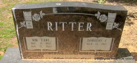 RITTER, WILLIAM EARL - Montgomery County, Arkansas | WILLIAM EARL RITTER - Arkansas Gravestone Photos