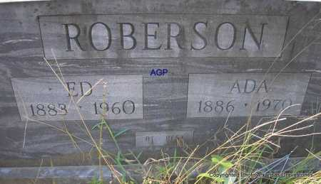 ROBERSON, ED - Montgomery County, Arkansas | ED ROBERSON - Arkansas Gravestone Photos