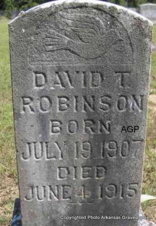 ROBINSON, DAVID T. - Montgomery County, Arkansas | DAVID T. ROBINSON - Arkansas Gravestone Photos