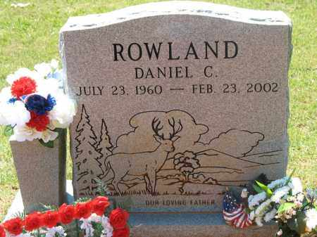 ROWLAND, DANIEL CHRISTOPHER - Montgomery County, Arkansas | DANIEL CHRISTOPHER ROWLAND - Arkansas Gravestone Photos