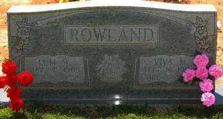 ROWLAND, VIVA MAE - Montgomery County, Arkansas | VIVA MAE ROWLAND - Arkansas Gravestone Photos