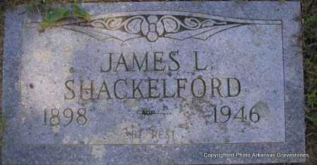 SHACKELFORD, JAMES L. - Montgomery County, Arkansas | JAMES L. SHACKELFORD - Arkansas Gravestone Photos