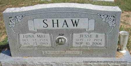SHAW, EDNA MAE - Montgomery County, Arkansas | EDNA MAE SHAW - Arkansas Gravestone Photos