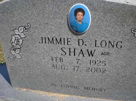 SHAW, JIMMIE D. - Montgomery County, Arkansas | JIMMIE D. SHAW - Arkansas Gravestone Photos
