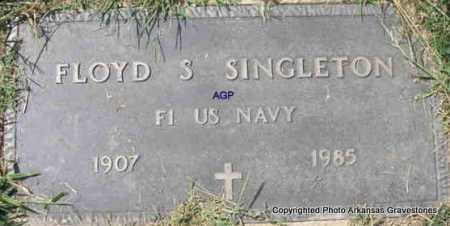 SINGLETON  (VETERAN), FLOYD S - Montgomery County, Arkansas | FLOYD S SINGLETON  (VETERAN) - Arkansas Gravestone Photos