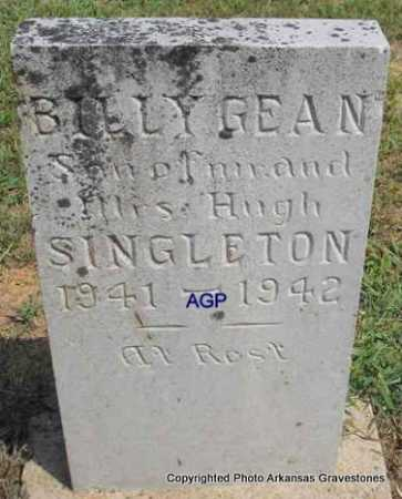 SINGLETON, BILLY GEAN - Montgomery County, Arkansas | BILLY GEAN SINGLETON - Arkansas Gravestone Photos