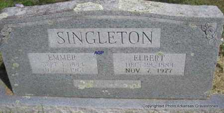SINGLETON, ELBERT - Montgomery County, Arkansas | ELBERT SINGLETON - Arkansas Gravestone Photos