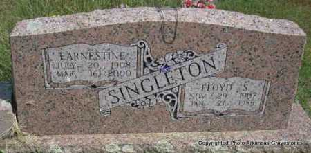 SINGLETON, EARNESTINE - Montgomery County, Arkansas | EARNESTINE SINGLETON - Arkansas Gravestone Photos