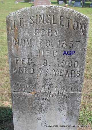SINGLETON, J. C - Montgomery County, Arkansas | J. C SINGLETON - Arkansas Gravestone Photos