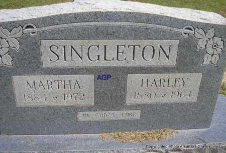 SINGLETON, MARTHA - Montgomery County, Arkansas | MARTHA SINGLETON - Arkansas Gravestone Photos