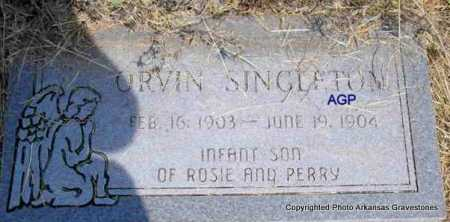 SINGLETON, ORVIN - Montgomery County, Arkansas | ORVIN SINGLETON - Arkansas Gravestone Photos