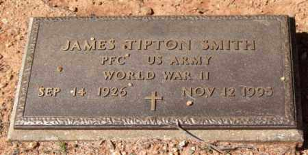SMITH (VETERAN WWII), JAMES TIPTON - Montgomery County, Arkansas | JAMES TIPTON SMITH (VETERAN WWII) - Arkansas Gravestone Photos