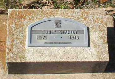STANLEY, TONEY - Montgomery County, Arkansas | TONEY STANLEY - Arkansas Gravestone Photos