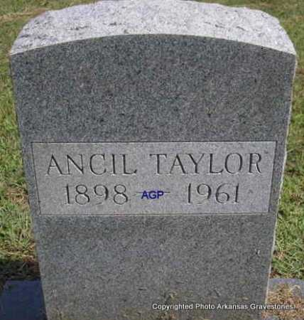 TAYLOR, ANCIL - Montgomery County, Arkansas | ANCIL TAYLOR - Arkansas Gravestone Photos