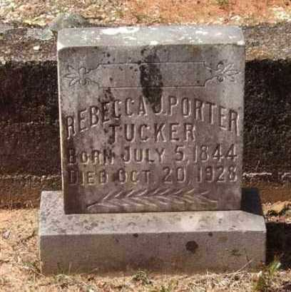 PORTER TUCKER, REBECCA J - Montgomery County, Arkansas | REBECCA J PORTER TUCKER - Arkansas Gravestone Photos