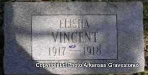 VINCENT, ELISHA - Montgomery County, Arkansas | ELISHA VINCENT - Arkansas Gravestone Photos