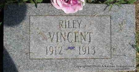 VINCENT, RILEY - Montgomery County, Arkansas | RILEY VINCENT - Arkansas Gravestone Photos