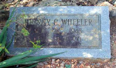 WHEELER, JOHNNY C - Montgomery County, Arkansas | JOHNNY C WHEELER - Arkansas Gravestone Photos