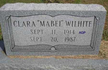 "WILHITE, CLARA ""MABEL"" - Montgomery County, Arkansas | CLARA ""MABEL"" WILHITE - Arkansas Gravestone Photos"