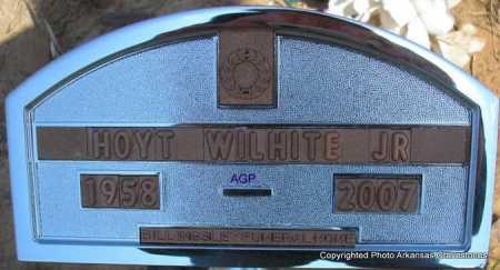 WILHITE, HOYT, JR - Montgomery County, Arkansas | HOYT, JR WILHITE - Arkansas Gravestone Photos