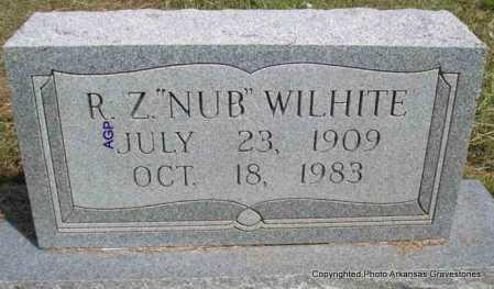 "WILHITE, R. Z. ""NUB"" - Montgomery County, Arkansas | R. Z. ""NUB"" WILHITE - Arkansas Gravestone Photos"