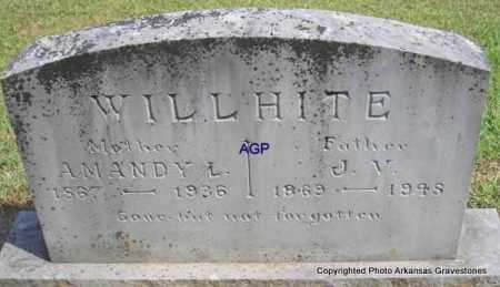 WILLHITE, J  V - Montgomery County, Arkansas | J  V WILLHITE - Arkansas Gravestone Photos