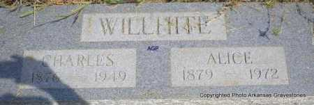 WILLHITE, CHARLES - Montgomery County, Arkansas | CHARLES WILLHITE - Arkansas Gravestone Photos