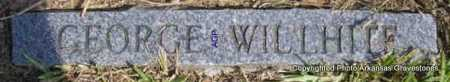 WILLHITE, GEORGE - Montgomery County, Arkansas | GEORGE WILLHITE - Arkansas Gravestone Photos