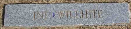 WILLHITE, INFANT - Montgomery County, Arkansas | INFANT WILLHITE - Arkansas Gravestone Photos