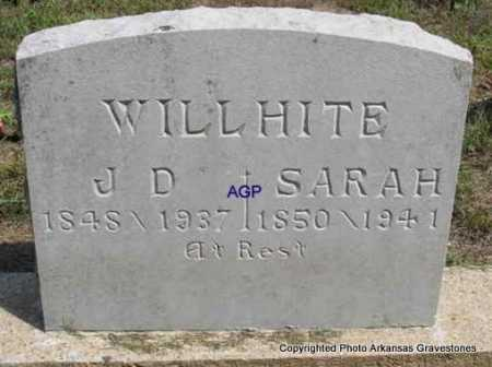 WILLHITE, J  D - Montgomery County, Arkansas | J  D WILLHITE - Arkansas Gravestone Photos