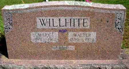 WILLHITE, WALTER - Montgomery County, Arkansas | WALTER WILLHITE - Arkansas Gravestone Photos