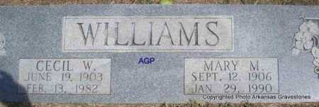 WILLIAMS, MARY M - Montgomery County, Arkansas | MARY M WILLIAMS - Arkansas Gravestone Photos