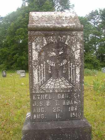 ADAMS, ETHEL - Nevada County, Arkansas | ETHEL ADAMS - Arkansas Gravestone Photos