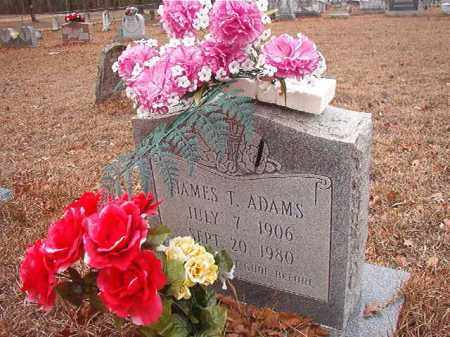 ADAMS, JAMES T - Nevada County, Arkansas | JAMES T ADAMS - Arkansas Gravestone Photos