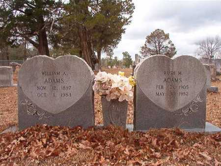 ADAMS, WILLIAM A - Nevada County, Arkansas | WILLIAM A ADAMS - Arkansas Gravestone Photos