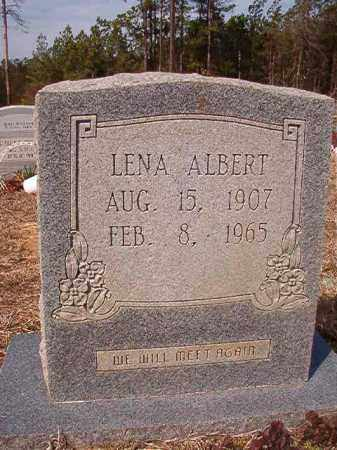 ALBERT, LENA - Nevada County, Arkansas | LENA ALBERT - Arkansas Gravestone Photos