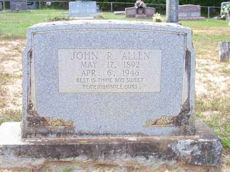 ALLEN, JOHN R. - Nevada County, Arkansas | JOHN R. ALLEN - Arkansas Gravestone Photos