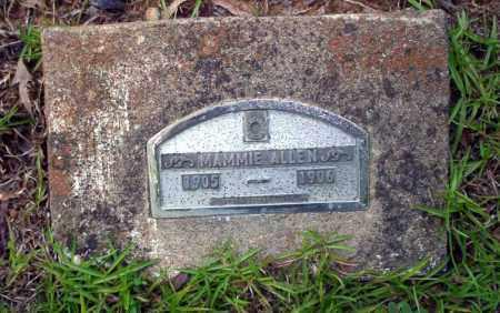 ALLEN, MAMMIE - Nevada County, Arkansas   MAMMIE ALLEN - Arkansas Gravestone Photos