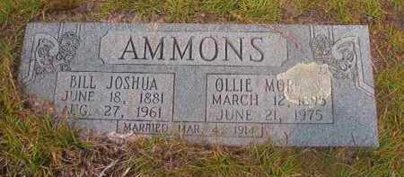 MORGAN AMMONS, OLLIE - Nevada County, Arkansas | OLLIE MORGAN AMMONS - Arkansas Gravestone Photos