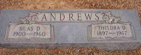 ANDREWS, THELDRA D - Nevada County, Arkansas | THELDRA D ANDREWS - Arkansas Gravestone Photos